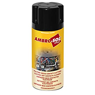 Ambro-Sol M200 Electrical Dry Contact Cleaner, Transparent