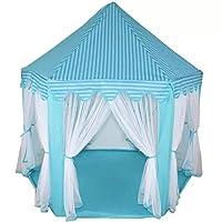 Portable castle play tent