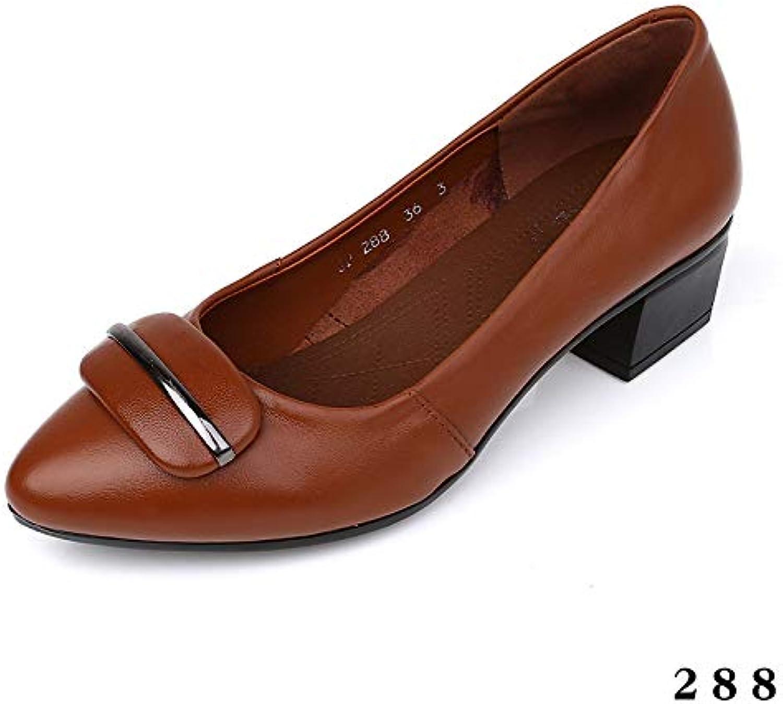 chaussures en cuir, chaussures de femmes petite flyrcx tête petite femmes bouche fashion confortable bure au ch auss ures c ha ussures b07h3lpp7j parent unique fe68d3