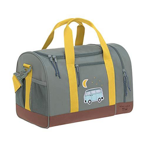 LÄSSIG Sporttasche Kinder Sportbeutel mit Umhängeriemen / Mini Sportsbag, Adventure Bus
