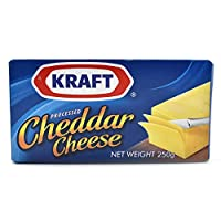 ‏‪KRAFT  Cheddar Cheese Block Creamy Cheese - 250 gm‬‏