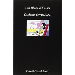 Cuaderno de vacaciones (visor de Poesía) Premio Nacional de Poesía 2015