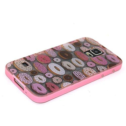 Voguecase® Pour Apple iPhone 6/6S 4.7, Noctilucent TPU Silicone Shell Housse Coque Étui Case Cover (Stripe/ancre)+ Gratuit stylet l'écran aléatoire universelle Donuts