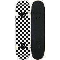 JSYCD Planches à roulettes, Pro Skateboard complète, 7 Couche canadienne de Planche à roulettes d'érable Pont pour Les Sports extrêmes et à l'extérieur