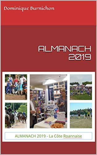 Couverture du livre ALMANACH 2019: de La Côte Roannaise