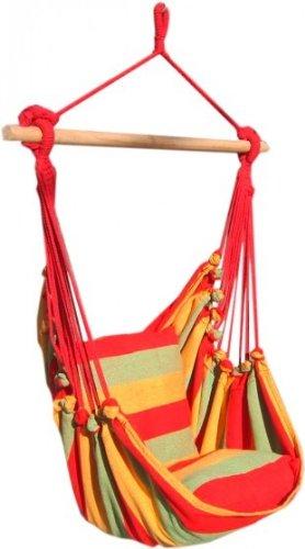 Leguana-Sedia sospesa Tobago Seggiolino per altalena sedia amaca amaca blu rosso