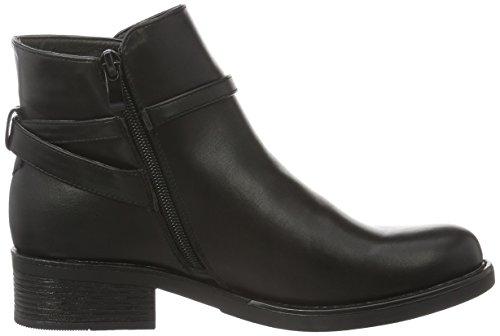 Pieces Psdaniella Boot Black, Bottes Courtes femme Noir - Noir