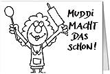 Grußkarte MINI +++ LUSTIG von modern times +++ MUDDI +++ ARTCONCEPT © STOCKEBRANDT, Kathrin