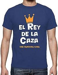 latostadora - Camiseta el Rey de la Caza para Hombre