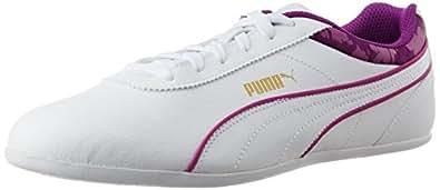 Puma Women's Myndy 2 Blur White and White Sneakers - 5 UK/India (38 EU)
