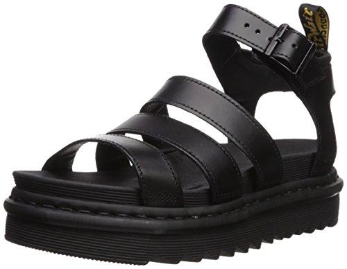 Dr.Martens Blaire 24191001 Brando Leather Womens Sandals - Black - 6