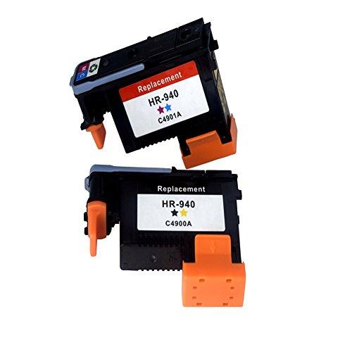 Preisvergleich Produktbild comada Trade Druckkopf Ersatz für HP 940(2er Pack) Verwendung für HP Officejet Pro 8000. 8500, 8500A, 8500A Plus, 8500A Premium