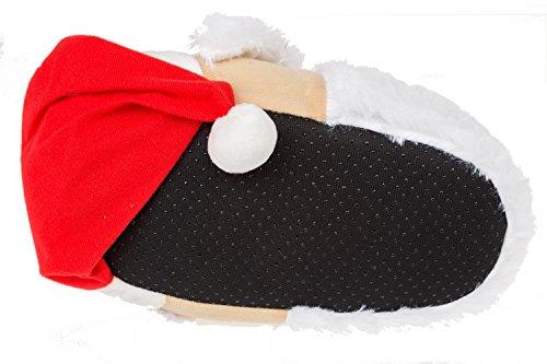 Pantofole Animali Gibra® Babbo Natale, Art. 5716, 36-47 Gr. Multicolore