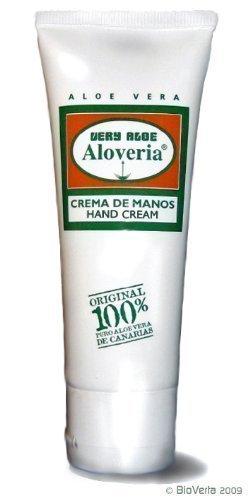ALOVERIA® HANDCREME mit 30 % purer Aloe, zieht schnell ein
