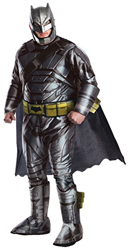 (Dawn Of Justice Batman Deluxe Armored Adult Costume Plus)