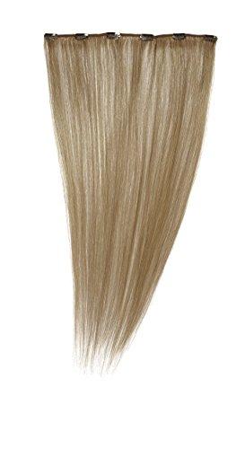 Love Hair Extensions - LHE/A1/QFC12/22/25 - 100 % Cheveux Naturels - Barrette Unique Extensions à Clipper - Couleur 25 - Blond Léger - 56 cm
