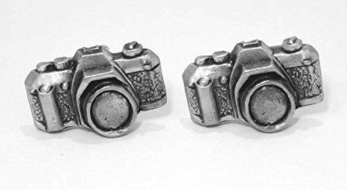 Boutons de Manchette Caméra (avec Boîte à Cadeau)