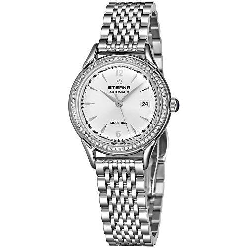 Eterna Heritage 1948 Reloj de Mujer Diamante automático 30mm 2956-50-13-1742