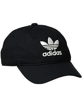 adidas Trefoil Gorra de Tenis, Hombre, Negro, OSFC
