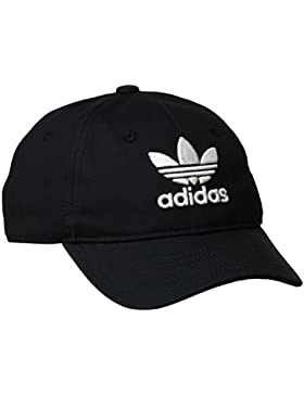 adidas Trefoil Gorra de Tenis, Hombre, Negro, OSFM