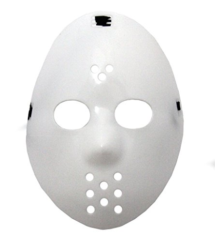 Oramics Hockey Maske Nightmare Karneval Fasching Maske in Weiss
