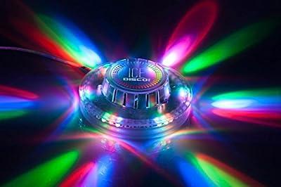 Disco 360 Ice Sound Responsive LED Lightshow - inexpensive UK light store.