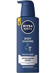 NIVEA Men, 3er Pack After Shave Körper Lotion für Männer, 3 x 240 ml Spender, Protect & Care
