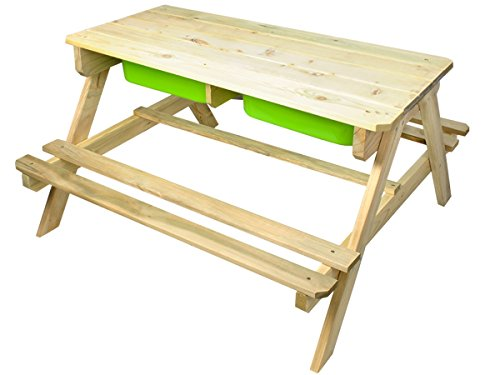 MALATEC Kinder Picknickbank 2in1 Kindersitzgarnitur Spielbank Spieltisch #5640