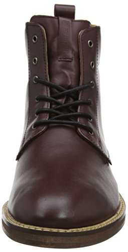 Ben Sherman Herren Aine Kurzschaft Stiefel Red (Bordo 006)