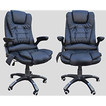 massage chair for desk. neo ™ black office computer desk leather massage chair massage chair for desk