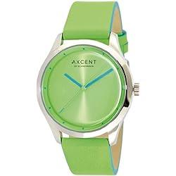 Axcent Damen-Armbanduhr Breeze Analog Quarz Leder IX10854-454