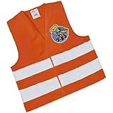 Rolly Toys 558698 rollySavety vest   Warnweste für Kinder   Sicherheitsweste orange    TÜV/GS geprüft