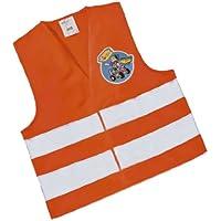 Rolly Toys 558698 rollySavety vest | Warnweste für Kinder | Sicherheitsweste orange  | TÜV/GS geprüft