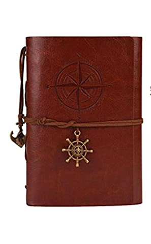 SZXC retro pirate travel trumpet diary A6 hand book Xiaoqing