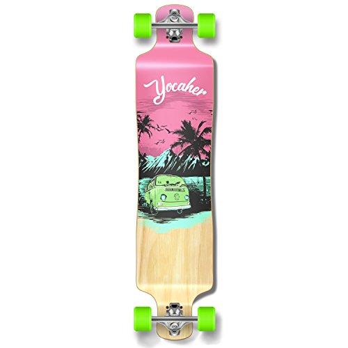 Yocellow VW Vibe Beach Series Skateboard Longboard