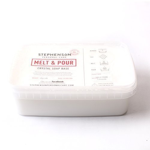 Melt and Pour Soap Base White SLS FREE - 1Kg