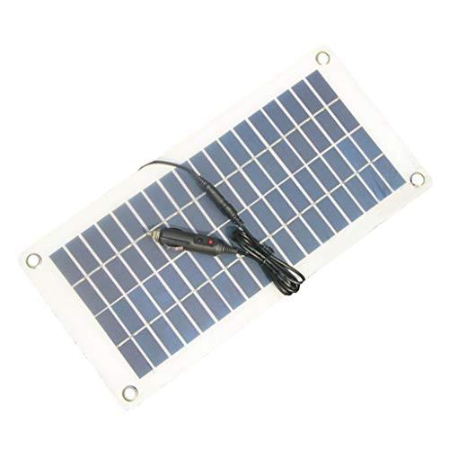 MagiDeal Solar Ladegerät Solarmodul Solarpanel Solarladegerät Batterieladegerät für Automobile Motorrad Outdoor (Automobil-solar-ladegerät)