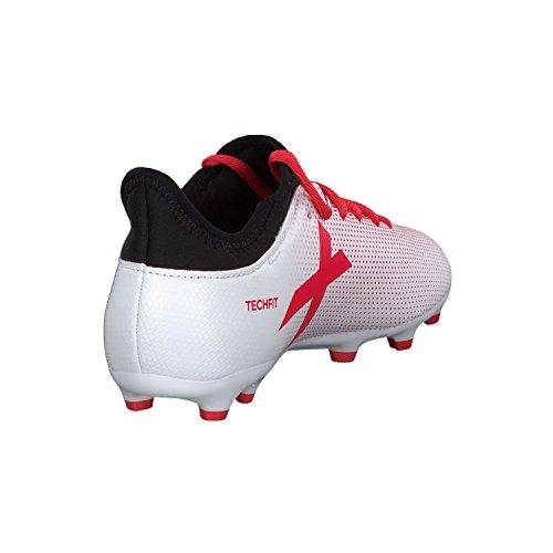 adidas Jungen X 17.3 FG Fußballschuhe Mehrfarbig (Greyreacorcblack)