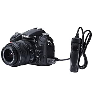 Neewer Replacement Wired Remote Shutter Release Control with LED Indicator for Nikon Camera
