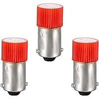 Flush Panel Mount 22mm AD56-22DS Bookh 3Pcs AC//DC 110V Indicator Lights Greed LED