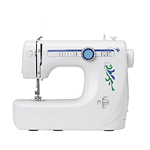Home Small Form Factor All-Lock Edge Sewing Desktop Multi-Level Variable Speed ??Machine à coudre électrique, 35.6 * 14 * 27.6Cm Eat Thick