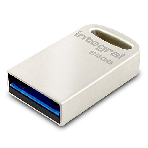 Integral Memory 64GB Speicherstick USB 3.0 silber/metal