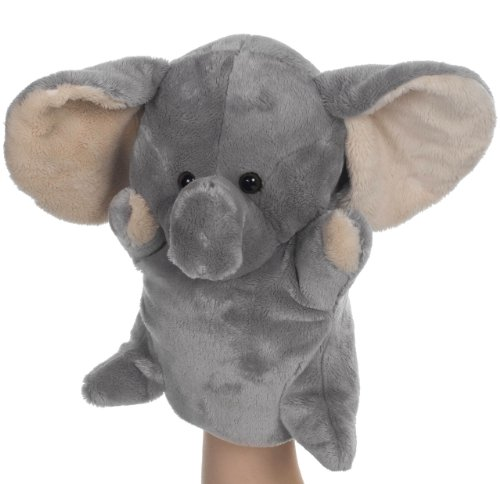 Heunec 390478 Besito - Marioneta de mano de elefante