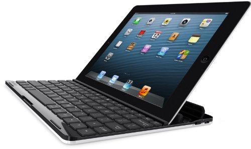 Belkin FastFit Bluetooth-Tastatur-Casemit Halterung (DE Layout, geeignet für Apple iPad 2, 3 & 4) schwarz/weiß (Belkin Ipad 2 Case Tastatur)