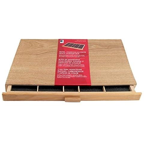 Art Alternatives Wood Pastel Box 2-drawer by Art Alternatives