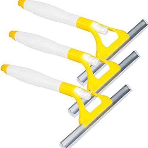 Scheibenwischer Haushalt Silica Gel Spray Glaswischer Geeignet Für Glas/Auto/Holzboden/Fliesen/Bad,Yellow