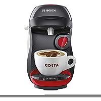 Bosch TASSIMO Happy TAS1003GB Coffee Machine - Red & Black