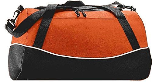 Augusta Herren Sportswear Mini Mesh Singlet Jersey Kelly orange / schwarz / weiß