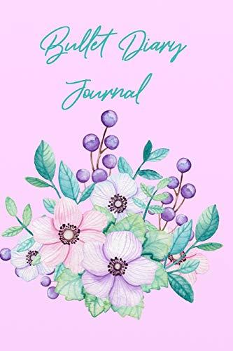 Bullet  Diary Journal: Mein 370 Seiten Blumen-Mohnblumen  Bullet Diary Journal  Das kreative Journal zum Ausfüllen und Gestalten