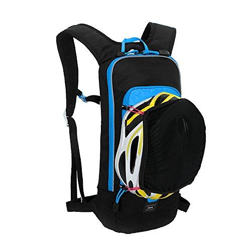 Hydration Packs Rucksack, bequemer undurchlässig, Air Flow System, reflektierende Teile, wasserdicht. Blau